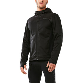 2XU Heat Membrane Hooded Jacket Herren black/black